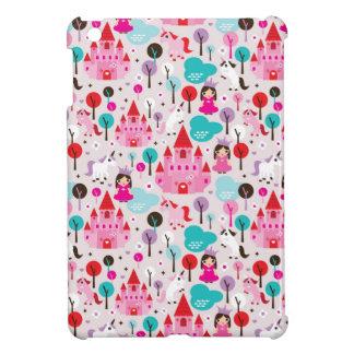 kids princess castle and unicorn case for the iPad mini