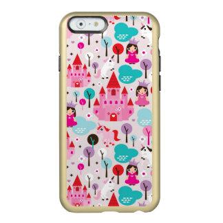 kids princess castle and unicorn incipio feather® shine iPhone 6 case