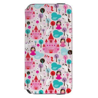 kids princess castle and unicorn incipio watson™ iPhone 6 wallet case