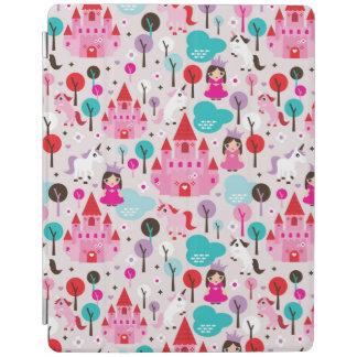kids princess castle and unicorn iPad smart cover
