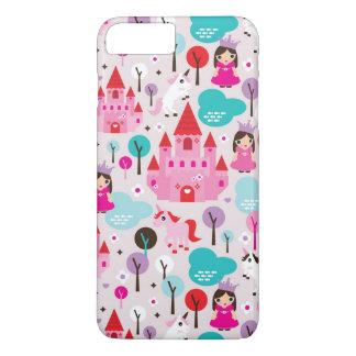 kids princess castle and unicorn iPhone 8 plus/7 plus case