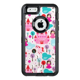 kids princess castle and unicorn OtterBox iPhone 6/6s case