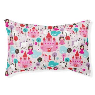 kids princess castle and unicorn pet bed