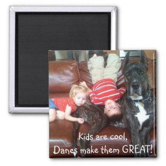 Kids R Cool Fridge Magnet