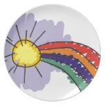 kids rainbow design
