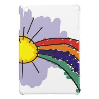 kids rainbow design iPad mini covers