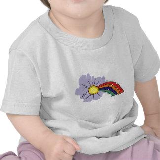 kids rainbow design t shirts