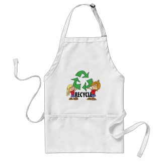 Kids Recycle Aprons