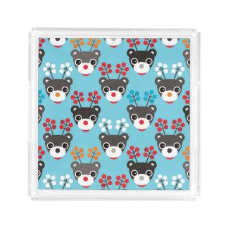 Kids Red Nosed Reindeer Pattern