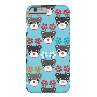 Kids Red Nosed Reindeer Pattern Barely There iPhone 6 Case