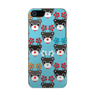 Kids Red Nosed Reindeer Pattern Incipio Feather® Shine iPhone 5 Case