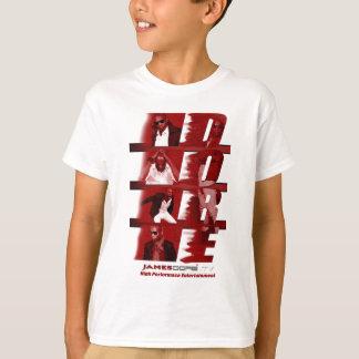 Kids RED T-Shirt White