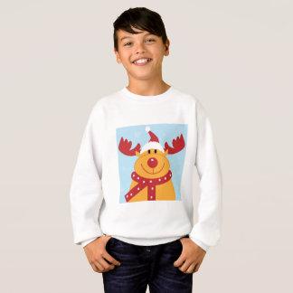 Kids Reindeer Sweat Sweatshirt