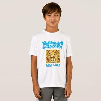 "Kids ""Roar like a lion"" shirt"