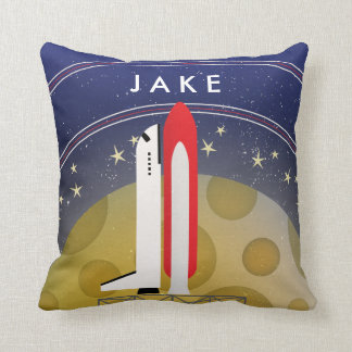Kid's Room Astronaut Space Pillow