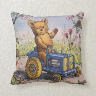 kid's room, teddy bear cushion