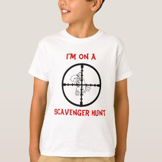 Kids Scavenger Hunt T-Shirt