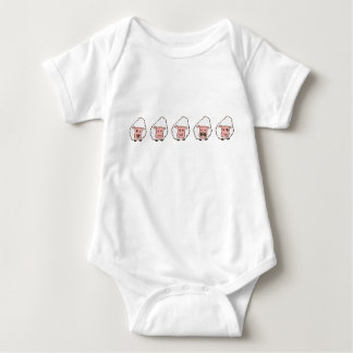 kids sheep baby bodysuit