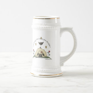 Kids Sheep T Shirts and Gifts Beer Steins