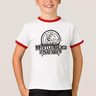 Kids' Short Sleeve Raglan T-Shirt RD/WHT