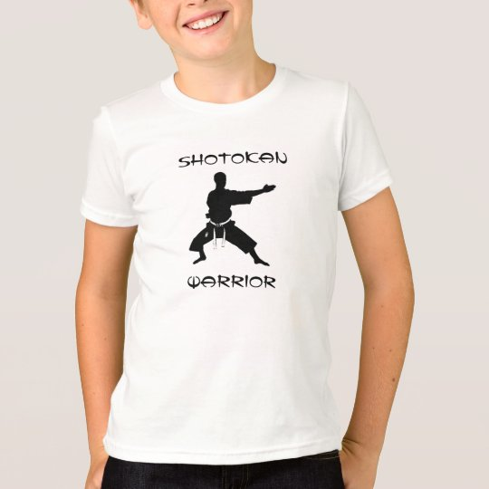Kids Shotokan Warrior Martial Arts T-Shirt