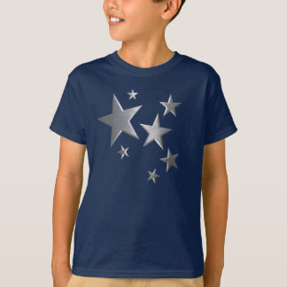 Kids Silver star fun t-shirt