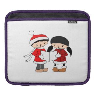 Kids Singing Christmas Carols iPad Sleeves