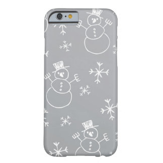 Kids Snowman Pattern Barely There iPhone 6 Case