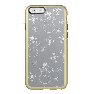 Kids Snowman Pattern Incipio Feather® Shine iPhone 6 Case