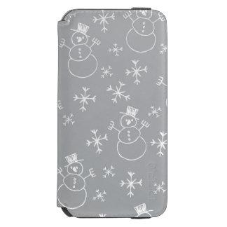 Kids Snowman Pattern Incipio Watson™ iPhone 6 Wallet Case