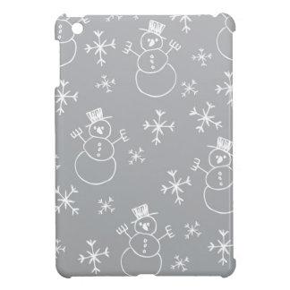 Kids Snowman Pattern iPad Mini Case