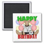 Kids Soccer Birthday Fridge Magnets