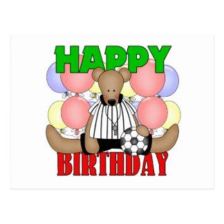 Kids Soccer Birthday Postcard