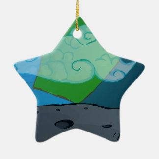 Kids Space Ceramic Star Decoration