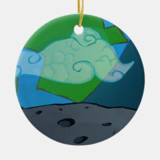 Kids Space Christmas Ornament