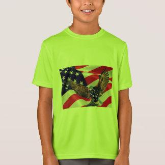 Kids' Sport-Tek Competitor or love usa  T-Shirt