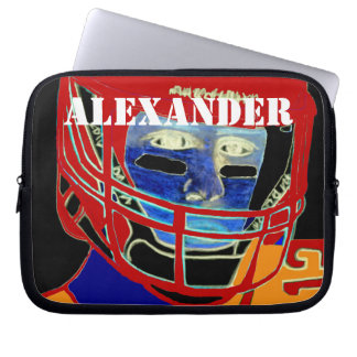 Kids Sports Football Laptop Cover Athletic Gift Laptop Sleeve