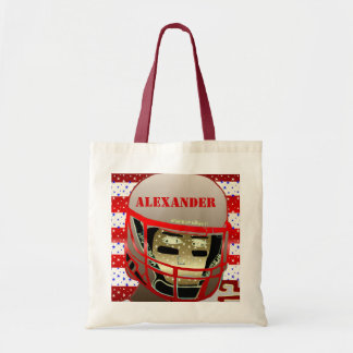 Kids Sports Football Personalized Gym Bag Gift