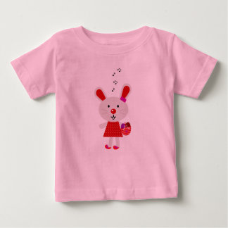 Kids spring t-shirt with Bunny