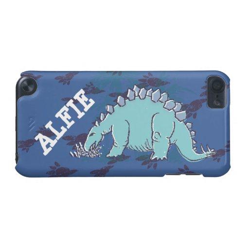 Kids stegosaurus blue ipod case iPod touch 5G case