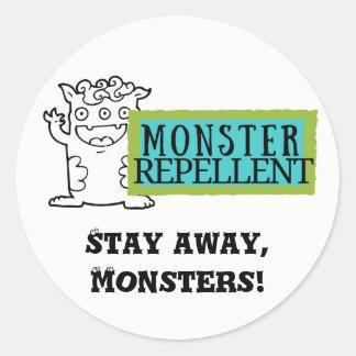 Kids Stickers - Monster Repellent