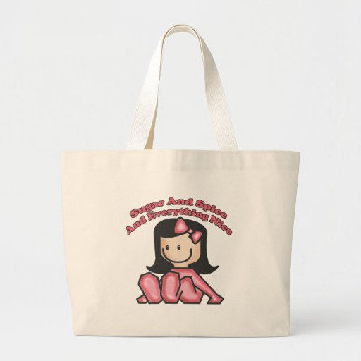 Kids Sugar and Spice Girls Tote Bag