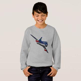 Kids Sweatshirt Jet Graphic