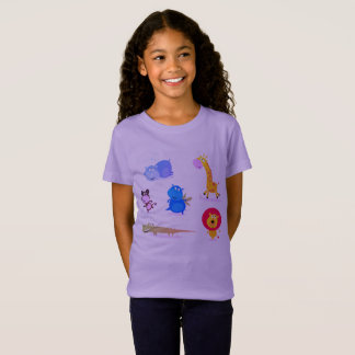 KIDS T-SHIRT AFRICA Lavender edition