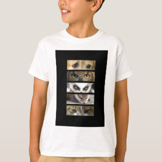 Kids T-Shirt - Animals Eyes
