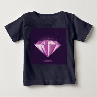 Kids t-shirt black with luxury Diamond