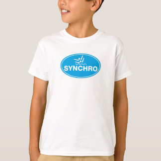 KID'S T-SHIRT Synchronized Swimming - icon
