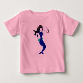 Kids t-shirt with Blue Mermaid