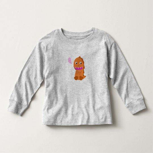 Kids t-shirt with Brown Dragon