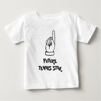 Kids t shirt with humorous tennis motto